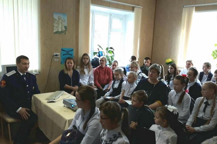 Липецкие школьники знакомятся с историей казачества