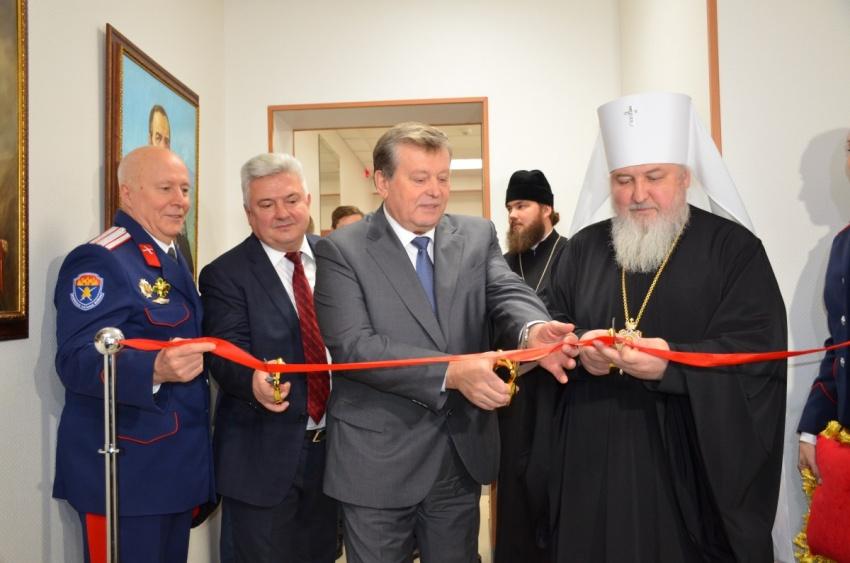 Атаман ВКО ЦКВ Иван Кузьмич Миронов посетил новое представительство Волжского казачьего войска