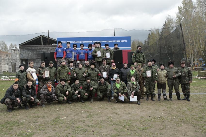 Впервые в истории ВКО ЦКВ казаки-дружинники соревновались на турнире