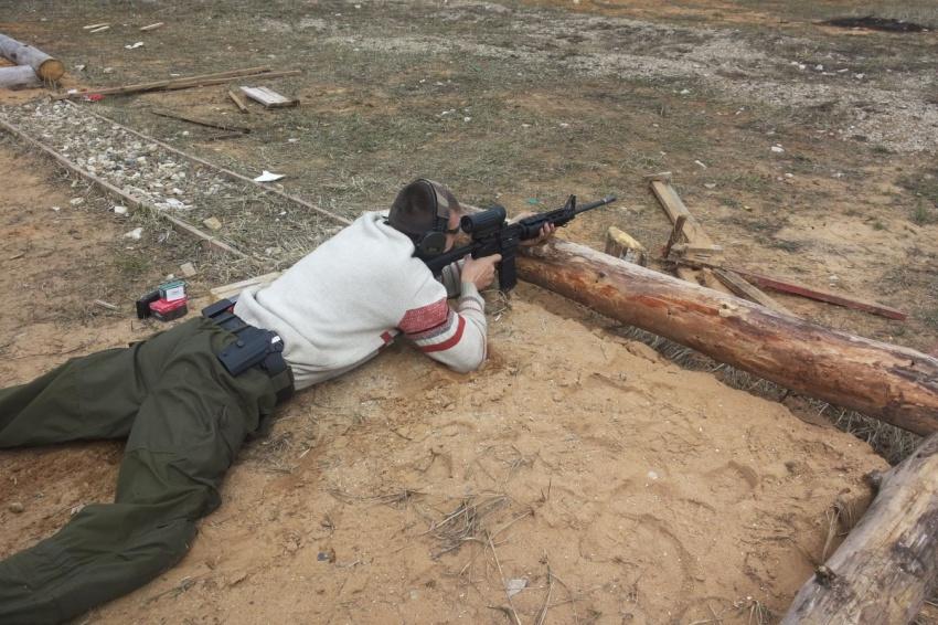 Казаки Калужского отдельского казачьего общества продолжают успешно участвовать в стрелковых соревнованиях