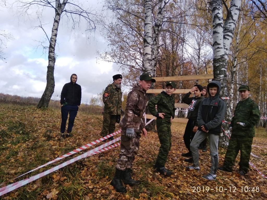 Владимирские казаки провели пятые военно-полевые сборы в Лакинске