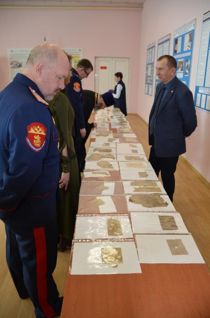 Открыта еще одна страница в истории второй мировой войны – казаки Центрального казачьего войска передали в архив Минобороны уникальные документы