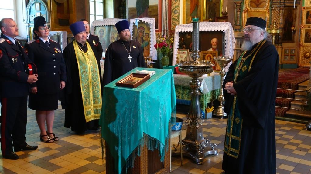Казаки Тамбовской области отметили 180 лет со дня рождения графа И.И. Воронцова-Дашкова