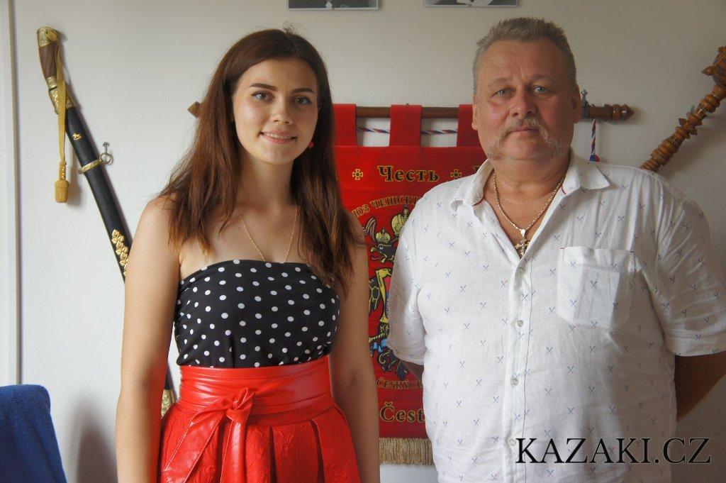 Казаки Чехии, Фольклорный ансамбль «Казаки Влтавы» ВСЧзС приняли делегацию Казачек Дона