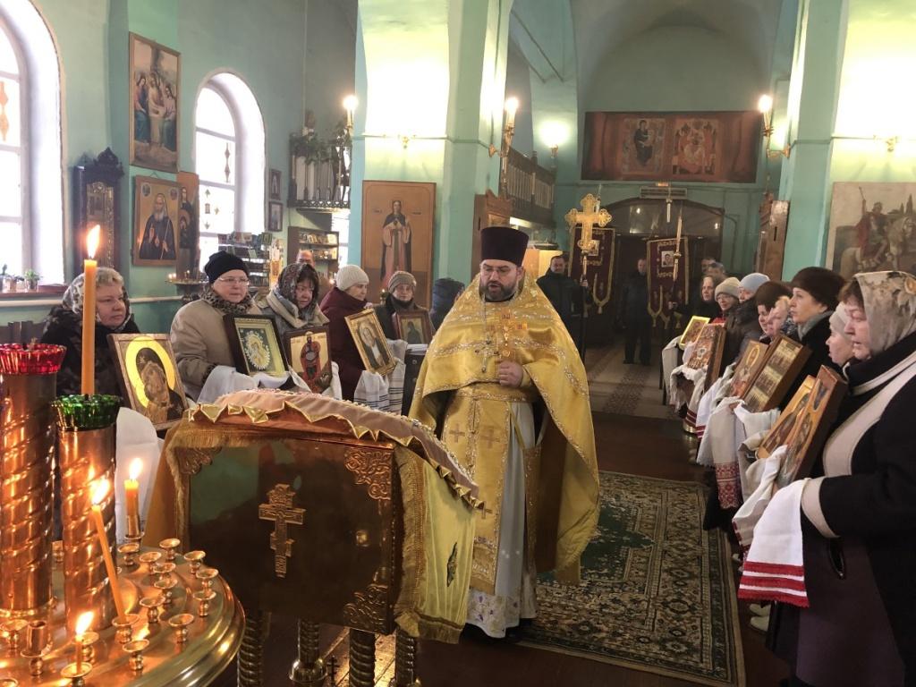 Престольный праздник в храме Преображения с. Квашенки