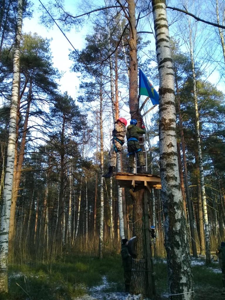 Первые зимние военно-полевые сборы казаков и православной молодежи