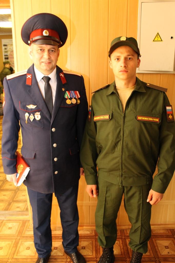Служба в армии - почетная обязанность