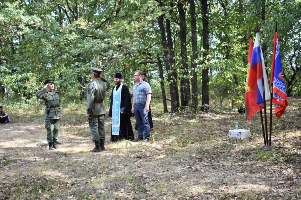 В Липецкой области прошли полевые сборы для казаков
