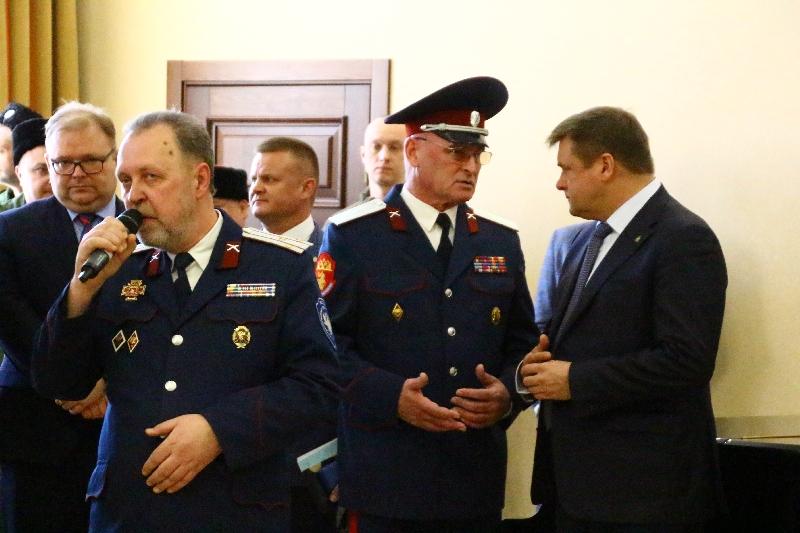 В Рязани открылась выставка «Казачество на государевой службе»