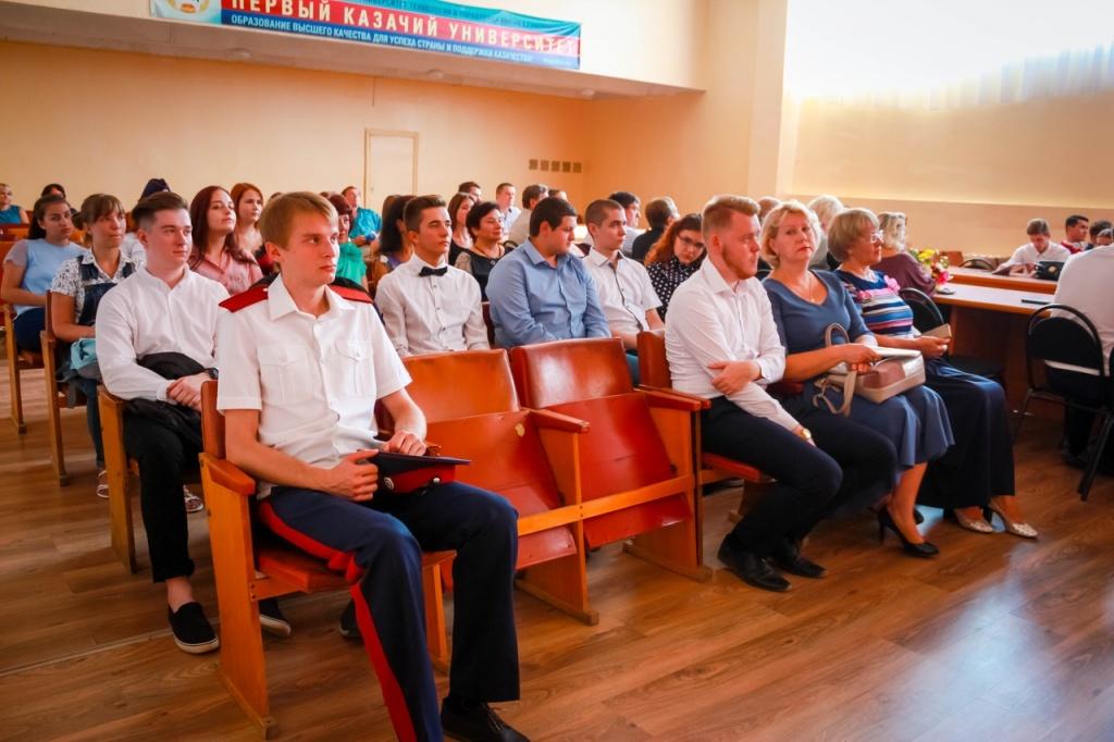 Липецкие студенты-казаки отметили День знаний