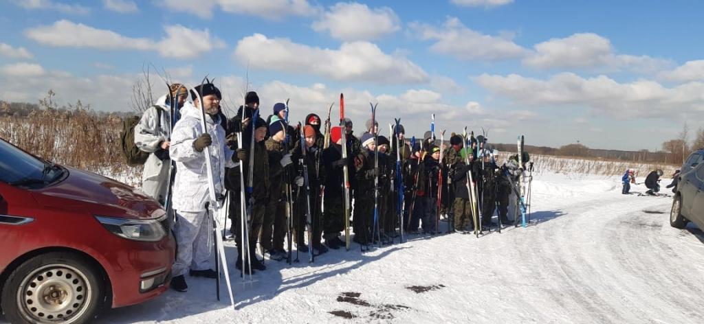 Лыжный поход в Домодедово