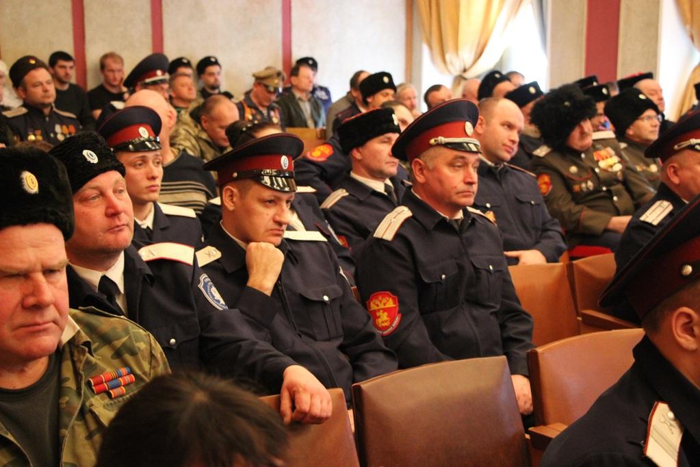 6-ой отчетный Большой Круг Тверского окружного казачьего общества