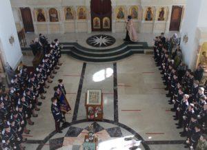 Учащиеся кадетского казачьего класса дали торжественное обещание