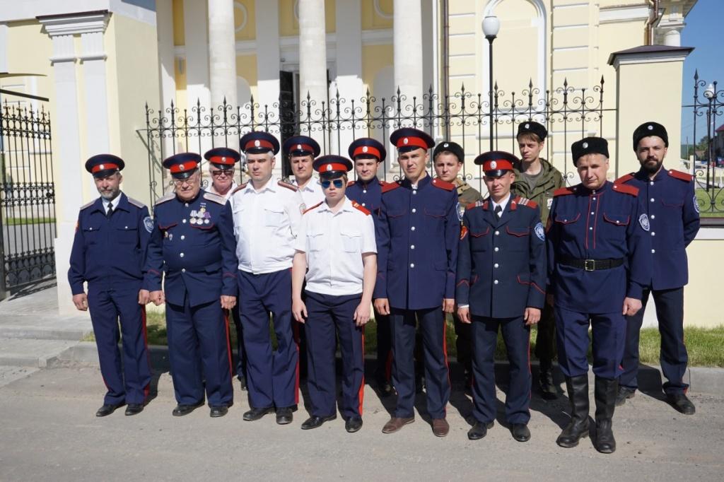 Подмосковные казаки несли службу на фестивале «Шкинь-опера»